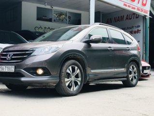 Cần bán xe Honda CRV 2.4 sản xuất năm 2013, biển Hà Nội, màu ghi đen, chạy chuẩn 80 000 km