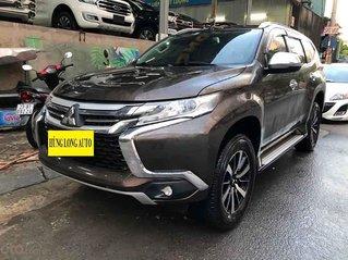 Bán Mitsubishi Pajero Sport 2.4D 4x2 AT năm sản xuất 2018, màu nâu, nhập khẩu