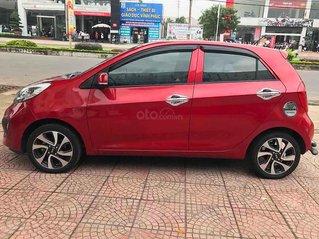 Xe Kia Morning sản xuất 2014, màu đỏ, nhập khẩu nguyên chiếc