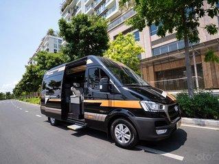 Bán Solati Limousine 12 chỗ giá tốt nhất miền Nam, vay NH 90%. Chỉ cần 275 triệu đã có ngay Solati Limousine siêu vip