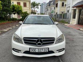Mercedes C300 sản xuất 2010 màu trắng, giá 485tr