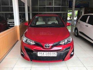 Bán Toyota Yaris năm sản xuất 2018, màu đỏ, nhập khẩu
