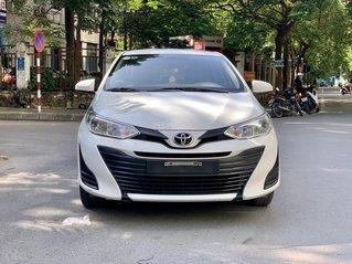 Cần bán xe Toyota Vios E 1.5 MT sản xuất năm 2018, màu trắng siêu đẹp giá tốt, biển thành phố
