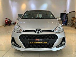 Bán xe Hyundai Grand i10 1.2MT đời 2018, màu bạc