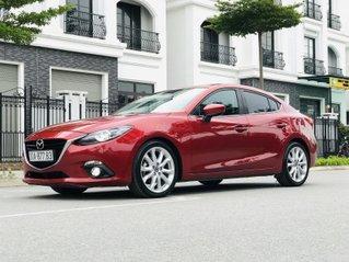 Bán Mazda 3 2.0 đời 2015, 1 chủ biển HN, màu đỏ xe đẹp xuất sắc