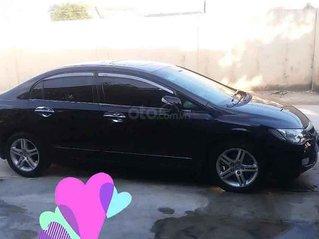 Bán Honda Civic năm sản xuất 2008, màu đen, xe gia đình, giá tốt