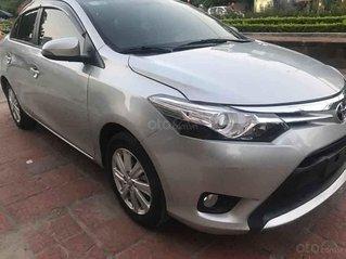 Cần bán lại xe Toyota Vios G 2017, màu bạc
