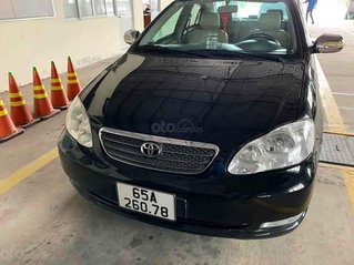 Cần bán gấp Toyota Corolla Altis sản xuất năm 2003, màu đen còn mới, 218 triệu