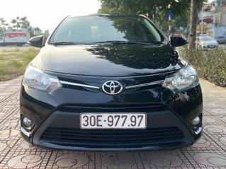 Toyota Vios E sx 2017 màu đen số tự động