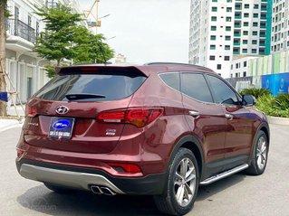 Cần bán Hyundai Santafe 2018 màu đỏ full dầu cao cấp