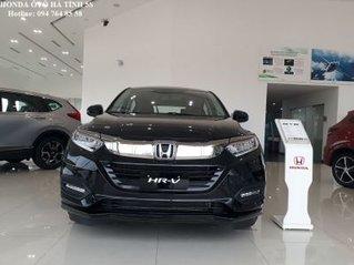 Hỗ trợ mua xe trả góp lãi suất thấp với chiếc Honda HR-V L màu đen, sản xuất năm 2020, giao nhanh