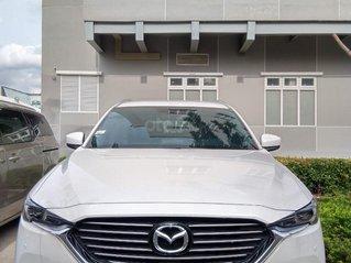 Thanh lý Mazda CX-8 Luxury trắng 2019, chỉ 1.109tỷ, tặng bảo hiểm, giảm 50% TTB, giá tốt chốt nhanh