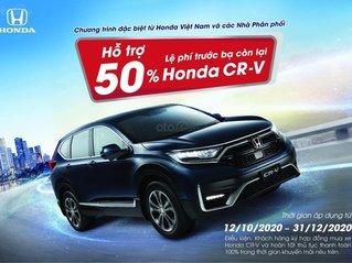 Honda CR-V, ưu đãi cực khủng - hỗ trợ 50% phí trước bạ còn lại