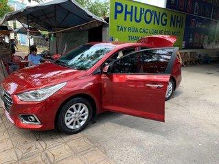 Cần bán gấp Hyundai Accent đời 2019, màu đỏ còn mới