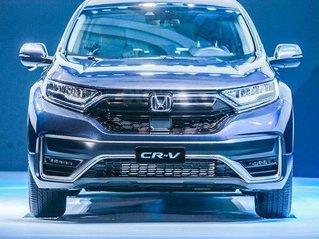 Cần bán nhanh chiếc Honda CR-V bản L màu trắng, mới sản xuất năm 2020, xe giá thấp, giao nhanh