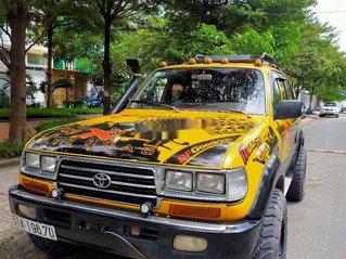 Bán xe Toyota Land Cruiser năm 1993, màu vàng, nhập khẩu nguyên chiếc