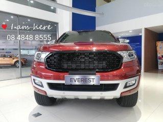 Ford Everest Trend 2020 màu đỏ ưu đãi khủng gần 100tr