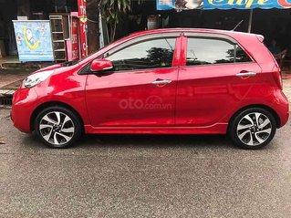Cần bán lại xe Kia Morning năm sản xuất 2016, màu đỏ còn mới