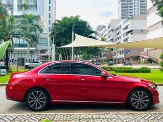 Bán xe Mercedes Benz C200 đời 2020, màu đỏ nội thất kem