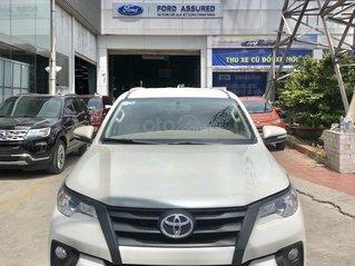 Toyota Fortuner 2.4G 2017 xe màu trắng đẹp nhập Indo - có hỗ trợ vay ngân hàng