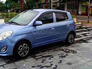 Cần bán Kia Morning LX 1.1 MT sản xuất 2012, màu xanh lam số sàn, 132tr