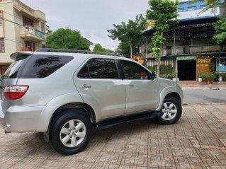 Bán Toyota Fortuner đời 2010, màu bạc, số tự động, giá chỉ 450 triệu