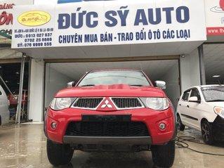 Bán Mitsubishi Triton đời 2011, màu đỏ, xe nhập, giá 310tr