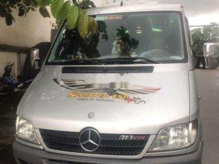 Cần bán lại xe Mercedes Sprinter sản xuất 2008, màu bạc, 220 triệu
