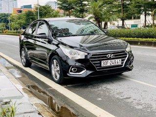 Cần bán lại xe Hyundai Accent 2018, màu đen chính chủ