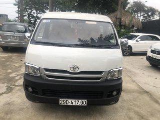 Bán Toyota Hiace tải Van 6 chỗ, đời 2009, máy dầu, biển Hà Nội, tên tư nhân