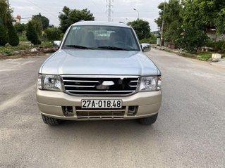 Cần bán lại xe Ford Everest sản xuất 2006, màu bạc số sàn