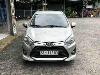 Bán xe Toyota Wigo đời 2018, màu bạc, nhập khẩu số sàn
