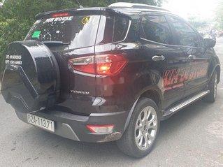 Bán xe Ford EcoSport Titanium 2018, màu đen chính chủ, giá tốt