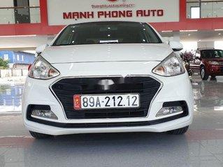 Bán xe Hyundai Grand i10 năm sản xuất 2018, màu trắng số tự động