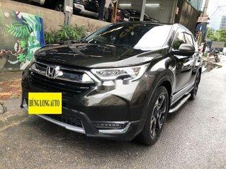 Bán Honda CR V đời 2018, nhập khẩu, màu xanh rêu
