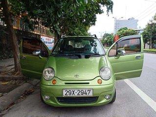 Gia đình bán ô tô Daewoo Matiz đời 2005, màu xanh cốm
