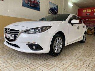 Bán Mazda 3 2016, màu trắng, còn thơm mùi mới