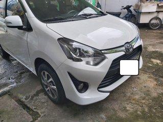 Bán Toyota Wigo sản xuất 2018, màu trắng, xe nhập số sàn