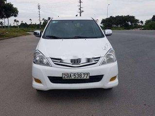 Gia đình bán Toyota Innova sản xuất 2010, màu trắng số sàn, giá chỉ 236 triệu