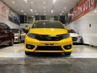 Bán Honda Brio RS 2020, màu vàng, nhập khẩu