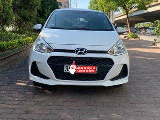 Cần bán lại xe Hyundai Grand i10 đăng ký 2017, màu Trắng xe gia đình giá 270 triệu đồng