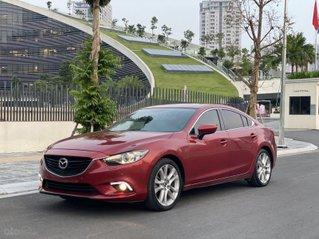 Cần bán xe Mazda 6 SX 2016, màu đỏ cam, nội thất đen, đi 55000km