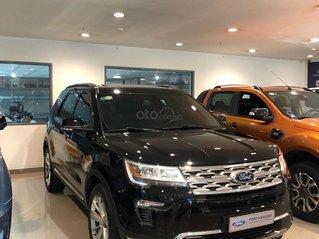 Ford Explorer 2018 ĐK 2019, đen, xe đẹp, giá tốt