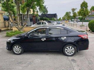 Cần bán xe Toyota Vios đời 2017, màu đen