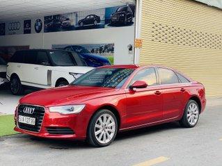 Bán xe Audi A6 model 2012, màu đỏ mới 95%, giá tốt 799 triệu đồng
