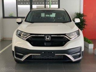 Bán xe chính hãng: Honda CR V đời 2020, màu trắng