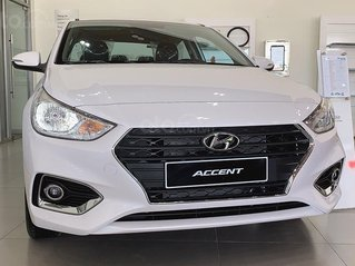 Bán xe Hyundai Accent năm sản xuất 2020, màu trắng