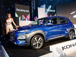 Bán xe Hyundai Kona sản xuất 2020, màu xanh lam