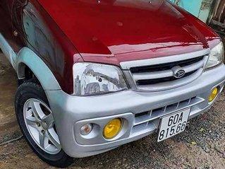 Cần bán Daihatsu Terios năm sản xuất 2005, màu đỏ, chính chủ