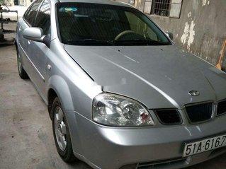 Bán ô tô Daewoo Lacetti năm sản xuất 2004, màu bạc